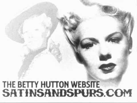 Betty Hutton  It Had To Be You 1944