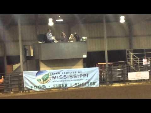 Wyatt Joiner Rodeo Announcer Vancleave High School Rodeo