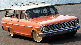 "1965 Chevrolet Chevy II / Nova Wagon 430hp LS3 ""Surf Wagon"" Build Project"