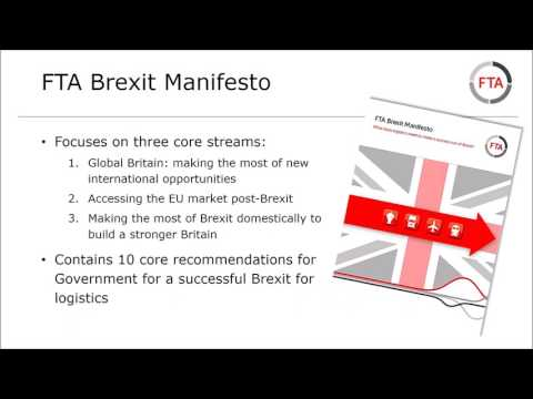 Brexit - what are the implications for logistics - March 2017