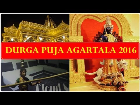 Durga Puja Agartala 2016