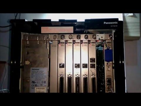 setting program pabx panasonic kx-tde100