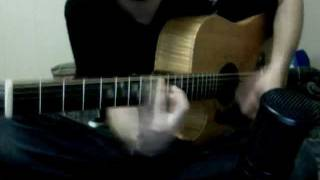 An acoustic guitar cover of Bran New Love Song by the Pillows.