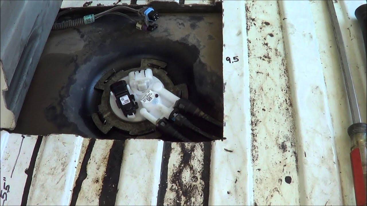 astro van fuel pump through floor tips 1 [ 1280 x 720 Pixel ]