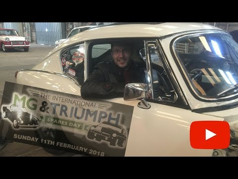The International MG And Triumph Spare Parts Day 2018