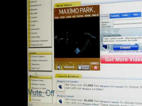 how to get myspace layouts
