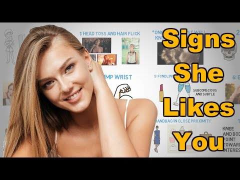 How to tell if a girl likes you - 13 most common body language signs a girl is attracted to you
