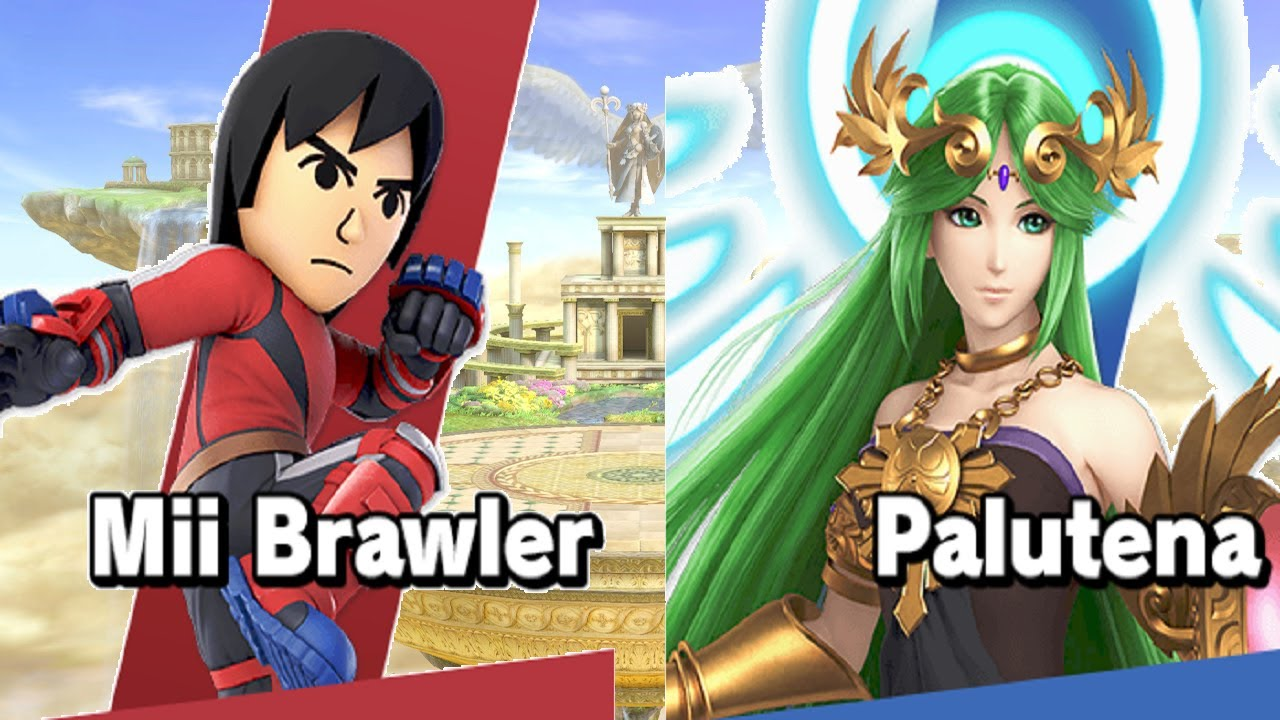 Palutena crushes your Mii (and everyone else) beneath her