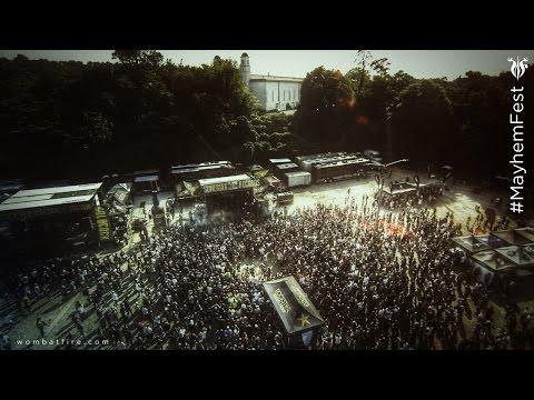 Rockstar Mayhem Festival Side-stages Atlanta 2014
