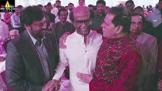 Chiranjeevi, Rajinikanth and Amitabh at T.Subbarami Reddy Grandson Keshav Wedding