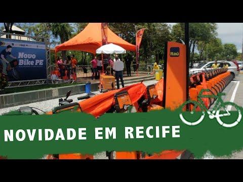 RECIFE É A PRIMEIRA A RECEBER NOVAS BIKES COMPARTILHADAS