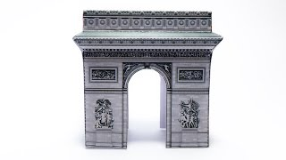 Arc De Triomphe Paper Crafts tutorial !