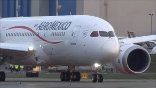 Aeroméxico 787-8 Delivery Flight + Engine StartUp of N965AM @ KPAE