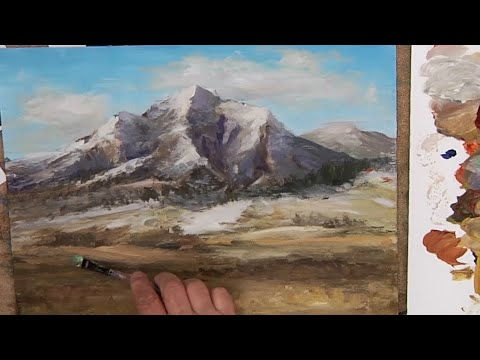 Painting a Landscape with Acrylics- New Contemporary Techniques for Beginning to Advanced Painters