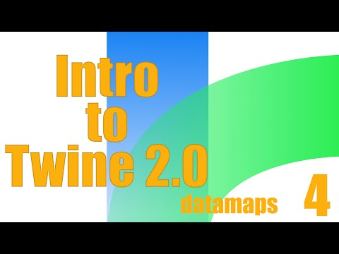 Intro to Twine 2.0: Datamaps