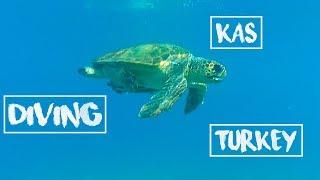KAS TURKEY DIVING / Дайвинг в Турции г.Каш Анталья. Дайвинг в ТУРЦИИ ЕСТЬ!!!!!!