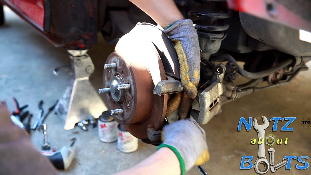 how to change rear brakes on acura integra