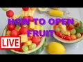 11 Amazing ways to Cut and Open Fruits - How Street Workers Do it ? #PAT