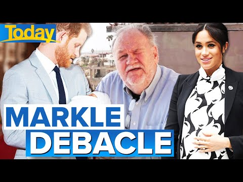 Meghan Markle's father threatens legal action | Today Show Australia