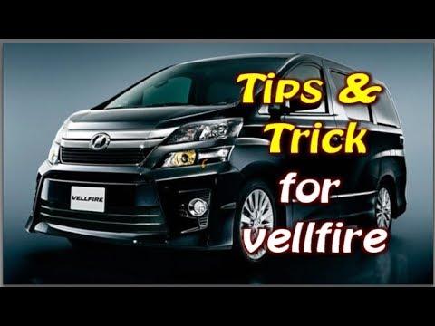 Ini tips untuk tuan punya vellfire & alphard