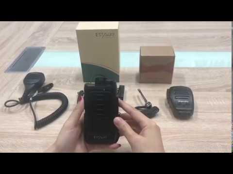Estalky E550  Small POC Radio With NFC, Android , GPS. WIFI,BT, LTE Broadband Device