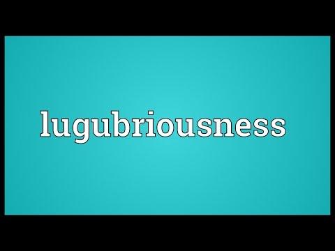 Header of lugubriousness