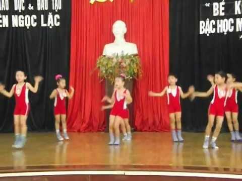 Nhảy EAROBIC cực hay (trường Mầm non Ngọc Liên, Ngọc Lặc, Thanh Hóa)