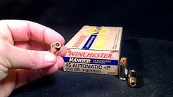 Gel Test - .45 ACP - Win Ranger-T 230 Gr. +P