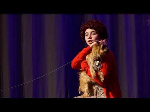 """Celebrating 40 years of Annie with """"Pepper"""" from the 1982 Film ANNIE"""
