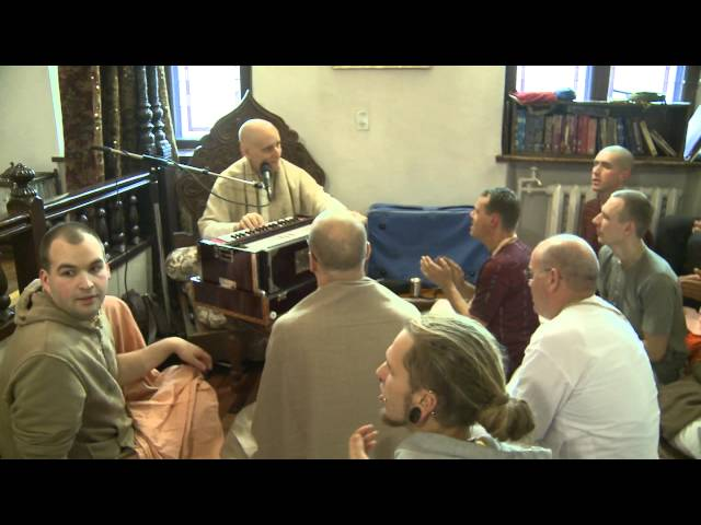 2012.11.04. Kirtan before Sunday Program HG SDA Kaunas Lithuania Travel Video