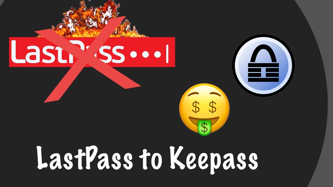 Migrate from LastPass to KeePass