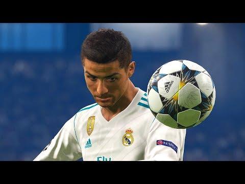 "PES 2018 Cristiano Ronaldo Goals & Skills Compilation ""10"""