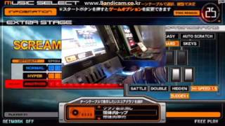 [beatmania IIDX 12 HAPPY SKY beat #1] 最初のOne More Extra Stage召喚
