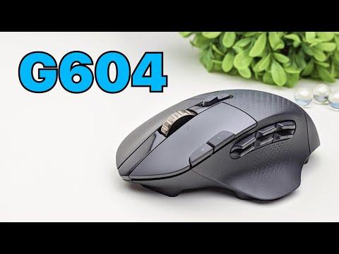 Logitech G604 Lightspeed Wireless Gaming Mouse (Review + G-hub Software)