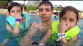 في الحديقة المائية وايلد وادي في دبي!
