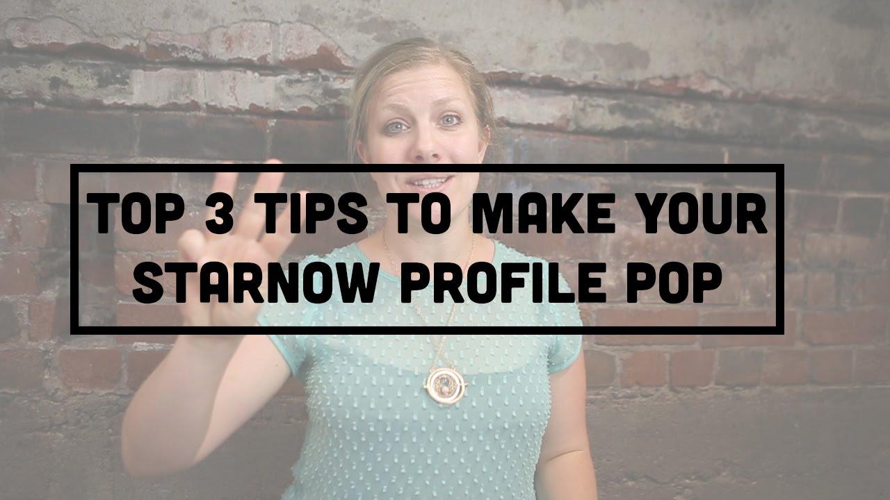 How to delete starnow profile