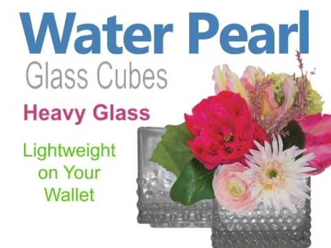 Pearl Glass Cube Vases Youtube