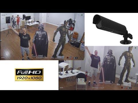 4in1 HD Bullet Security Camera - AHD HD-TVI HDCVI Analog CCTV