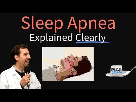 Obstructive Sleep Apnea Explained Clearly - Pathophysiology, Diagnosis, Treatment