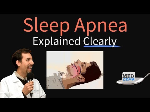 Obstructive Sleep Apnea Explained Clearly - Pathophysiology Diagnosis Treatment