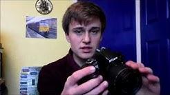 Nikon D3300 night photos tutorial, the basics.