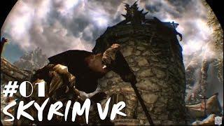 【PSVR】PS4『SKYRIM VR スカイリム VR』VRで広大な世界を旅する!#01 thumbnail