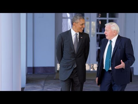 Sir David Attenborough and President Obama: The Full
