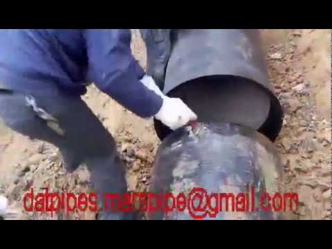 installation video of ductile iron pipe