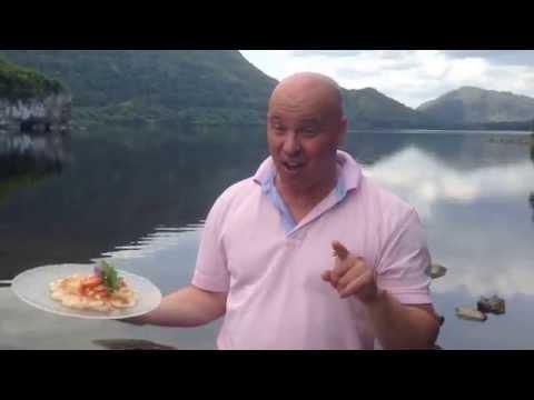 Cooking with Treyvaud on Irish TV