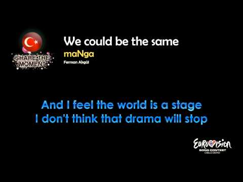 "maNga - ""We Could Be The Same"" (Turkey) - [Karaoke version]"