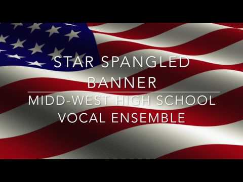 Midd West High School Star Spangled Banner