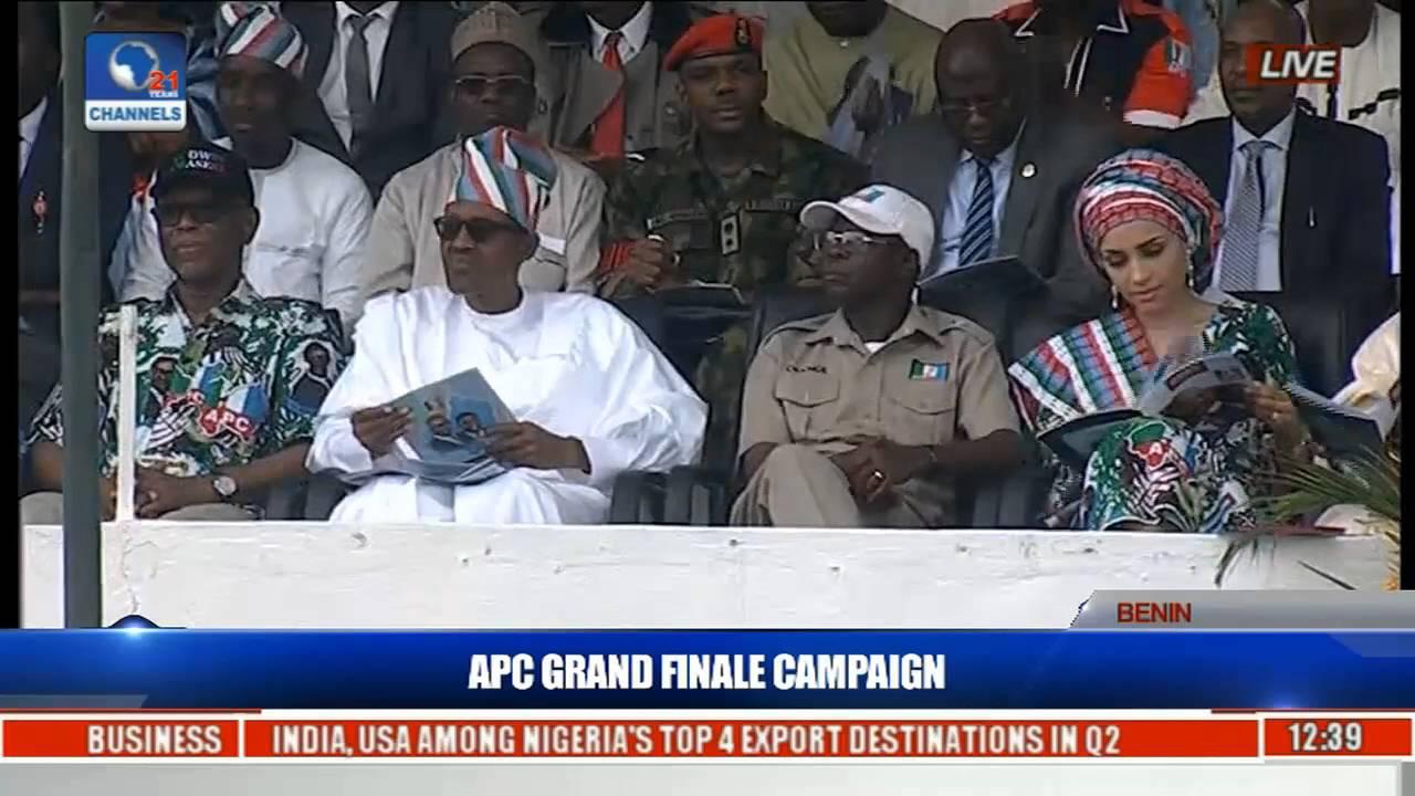 Download How Obahiagbon Welcomed Buhari At Edo State APC Rally