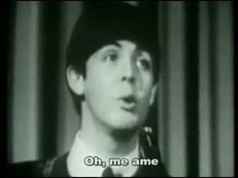 THE BEATLES - Love Me Do (Legendado)