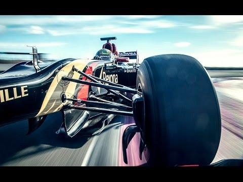 Driving a F1 Lotus -- TopGear iPad Magazine